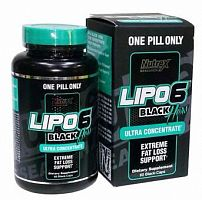 Жиросжигатель Nutrex Research Lipo-6 Black Hers Ultra Concentrate, 60 капс (103088)