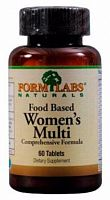 Витамины и минералы Form Labs Naturals Food Based Women's Multi, 60 таб (101705)