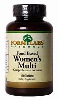 Витамины и минералы Form Labs Naturals Food Based Women's Multi, 120 таб (101704)