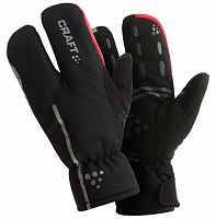 Зимние велоперчатки Craft Bike Thermal Split Finger glove /1901624/