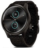 Спортивные часы Garmin vivomove Style Gunmetal-Dark Gray Fabric (010-02240-23)