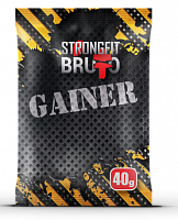 Гейнер пробник Strong Fit Brutto Gainer, 40 г