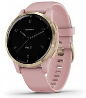 Умные часы Garmin Vivoactive 4S Dust Rose/Light Gold