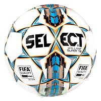 SELECT BRILLANT SUPER FIFA TB, мяч ф/б (041) бел/син