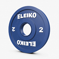 Диск Eleiko IWF Weightlifting Competition Disc - 2 kg FG (121-0020F)