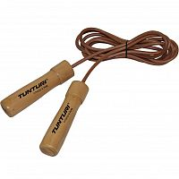 Кожаная скакалка Tunturi Leather Skipping Rope Pro (14TUSFU166)