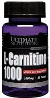 Ultimate Nutrition Carnitine 1000 - 30 таб (104758)