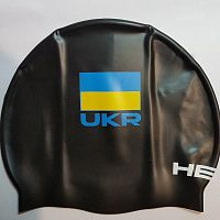 Шапочка для плавания Head Cap Flat Ukrainian Federation