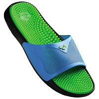 Тапочки мужские Arena Marco X Grip Hook, solid lime-turquoise /80635-37/