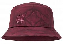 Панама для трекинга Buff Trek Bucket Hat calyx dark red (BU 117205.433.10.00)