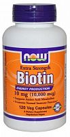 Now Foods Now Biotin 10 mg 120 vcaps  (812068)
