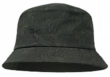 Панама для трекинга Buff Trek Bucket Hat checkboard moss green (BU 117206.851.10.00)