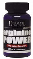 Аминокислота Ultimate Nutrition Arginine Power, 100 капс (104672)