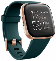 Смарт-часы Fitbit Versa 2 Emerald / Copper Rose