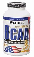 Аминокислоты Weider All Free Form BCAA, 260 таб (105313)