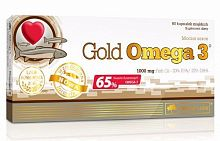 Рыбий жир Olimp Sport Nutrition Gold Omega 3 (65%), 60 капс (103192)