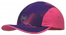 Кепка беговая Buff Run Cap optical pink (BU 117192.538.10.00)