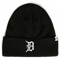 Шапка 47 Brand Detroit Tigers Raised Cuff Kni (B-RKN09ACE-BK)