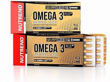 Витамины Nutrend Omega 3 Plus Softgel Caps 120 капсул