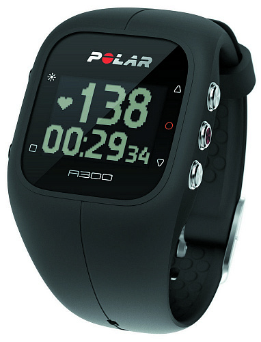 Пульсометр Polar A300 HR black
