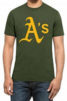 Футболка мужская 47 Brand Splitter Tee Oakland Athletics (317514-FS)