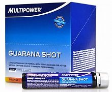 Энергетик Multipower Guarana Shot 20шт х 25мл (102420)