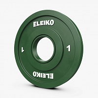 Диск Eleiko IWF Weightlifting Competition Disc - 1 kg FG (121-0010F)