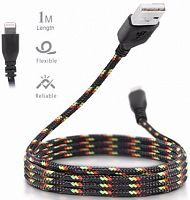 USB кабель Melkco i-mee Braided lightning для Apple iPhone 6/6 plus/5/5S/5C