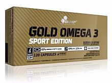 Пищевая добавка Olimp Sport Nutrition Gold Omega 3 Sport, 120 капс (103194)
