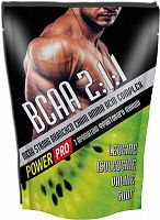 Аминокислота Power Pro Mega Strong BCAA, 500 г
