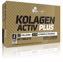 Коллаген Olimp Sport Nutrition Kolagen Activ Plus Sport Edition, 80 таб (107403)