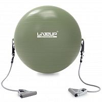 Фитбол с эспандером LiveUp Gym Ball With Expander (LS3227)