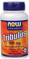 NOW Foods Tribulus 500 mg 45% 100 капс (811976)
