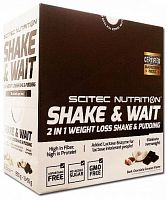 Scitec Nutrition Shake&Wait & Pudding Chocolate 10*55g box (107441)