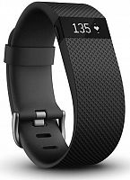 Fitbit Charge™ HR (Large/Black) пульсометр+ трекер активности