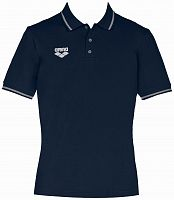 Мужская тенниска Arena TL S/S Polo navy /1D345-70/