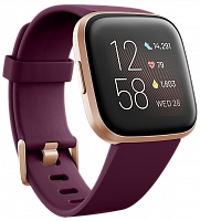 Смарт-часы Fitbit Versa 2 Bordeaux / Copper Rose