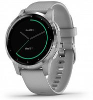 Умные часы Garmin Vivoactive 4S Powder Gray/Silver