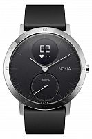 Смарт-часы c пульсометром Nokia (withings) Steel HR Black 40 mm