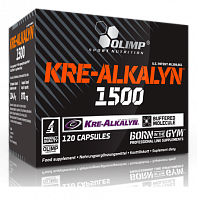Креатин Olimp Sport Nutrition Kre-Alkalyn 1500, 120 капс (103212)