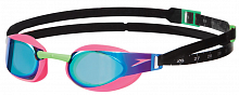 Очки для плавания Speedo Elite Goggles Mirror AU Pink/Green (8-08210A053)