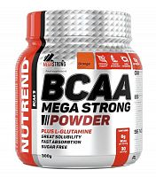 Аминокислоты Nutrend BCAA Mega Strong Powder 300 гр. апельсин(1927)