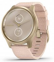 Спортивные часы Garmin vivomove Style Champagne-Dust Rose Fabric (010-02240-22)