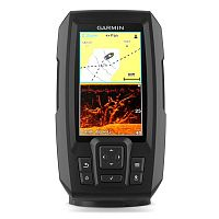 Эхолот/картплоттер Garmin Striker Plus 4cv, Worldwide w/GT20 (010-01871-01)