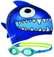 Набор для плавания Speedo Sea Squad Cap Gog Pack Ju (8-093036817)
