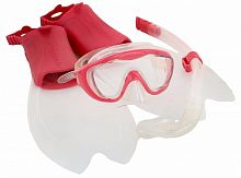 Набор для плавания Speedo Glide Junior Scuba Set Pink (8-035931341)
