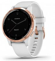 Умные часы Garmin Vivoactive 4S White/Rose Gold
