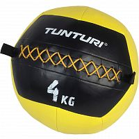 Набивной мяч Tunturi Wall Ball 4 kg Yellow (14TUSCF009)