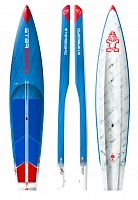 "Гоночная SUP доска Starboard 12'6"" X 28"" All Star Carbon Sandwich 2018"