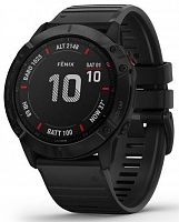 Спортивные часы Garmin Fenix 6X Pro Black with Black Band